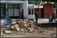 Rekonstrukcija trga u Aleji Matice Hrvatske 18.7.,2014